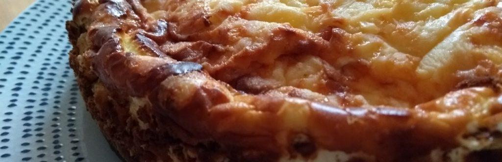 savoury cheesecake