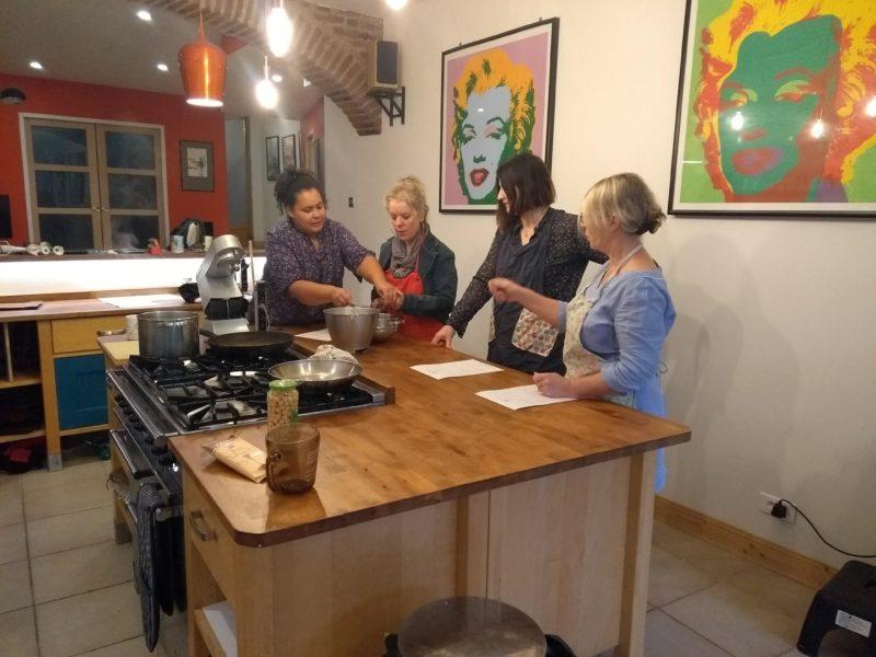 vegan cooking workshop